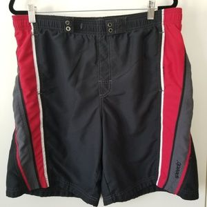 Speedo Men's Black Board Swim Shorts Size M